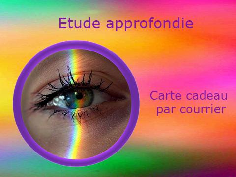 Carte Cadeau Par Courrier «Étude Approfondie» Photo Aura