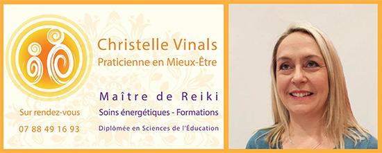 Christelle Vinals- Maître de Reiki-Formateur-Ain-Bourg en Bresse-Ceyzériat-Lyon-Oyonnax-Genève-07 88 49 16 93
